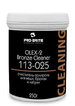 Полироль для меди, бронзы и латуни Olex-2 Bronze Cleaner